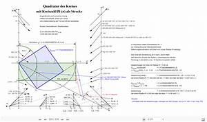 Nullstellen Berechnen Bruch : quadratur des kreises mit kreiszahl pi als strecke ~ Themetempest.com Abrechnung