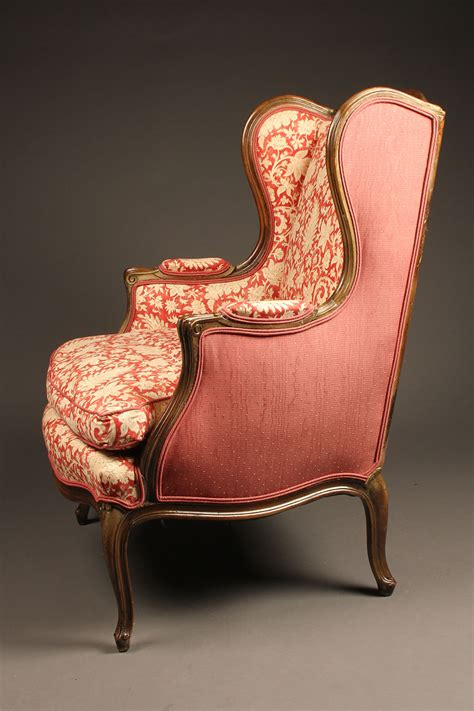pair  wingback  wing chairs