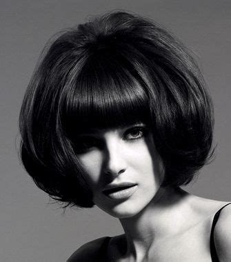 60s Bangs Hairstyles by A Medium Brown 60s Hairstyle By Andrew