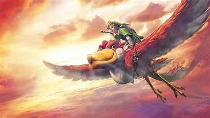 Zelda Sword Skyward Legend Wallpapers Backgrounds Link