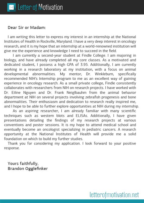 Motivation letter for mortgage can help you in bringing your dream home, business or vehicles, etc. Motivation Letter For Internship