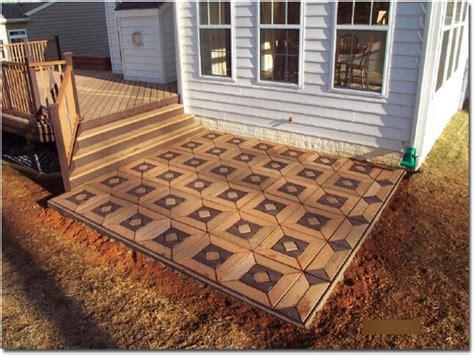 patio stone design outdoor patio flooring ideas deck