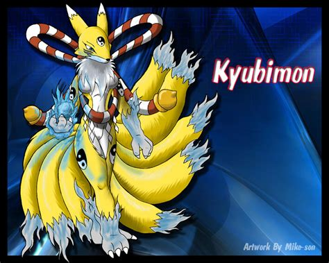 Kyubimon Colored Pic By Mike-son On Deviantart