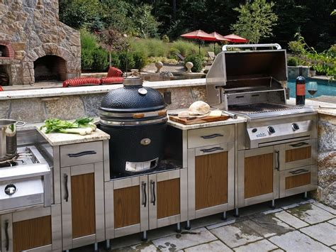 outdoor barbecue kitchen designs ideas for build outdoor grill islands home ideas collection 3815