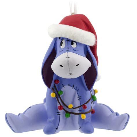 hallmark disney winnie the pooh eeyore christmas ornament