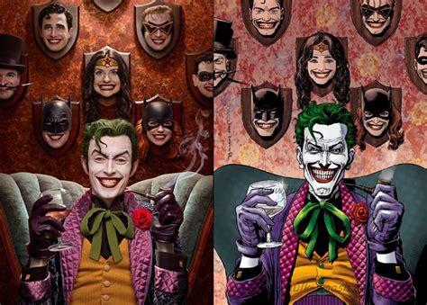 jokers creepy trophy wall brought  life  cosplay
