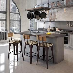 Bar Style Industriel : cuisine style usine simple les meilleures ides de la catgorie cuisine style industriel cuisine ~ Teatrodelosmanantiales.com Idées de Décoration