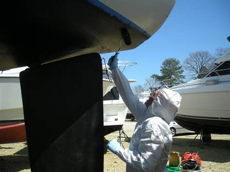 Applying Bottom Paint New Boat by Boat Painting Tips Boattech Boatus