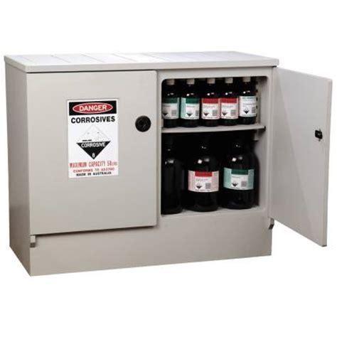 corrosive cabinet 100l polyethylene corrosive substances cabinet spill ready
