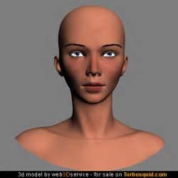 Female 3D Head Model