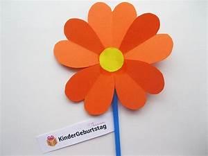 Blumen Aus Papier : bunte blumen selber basteln kindergeburtstag deko und basteln pinterest blumen selber ~ Udekor.club Haus und Dekorationen