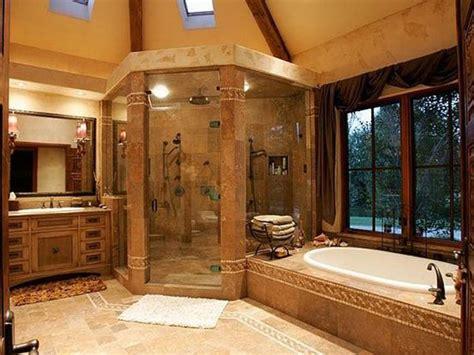Log Cabin Wooden Bathroom Decorating Images