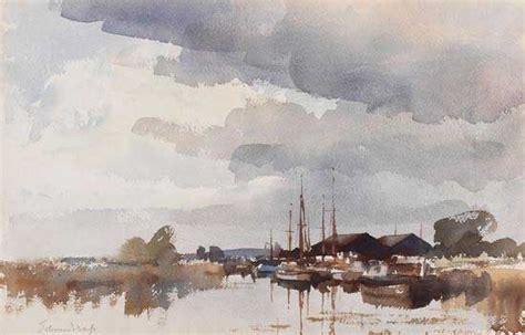 Boat Auctions Norfolk Broads by Boatyard On The Norfolk Broads By Edward Seago Kunst