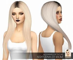 Sims 4 Hairs Miss Paraply Nightcrawlers Naomi Hair