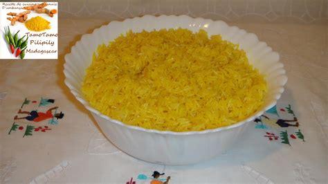 simple recette de cuisine cuisine artisanale d 39 ambanja madagascar le riz jaune