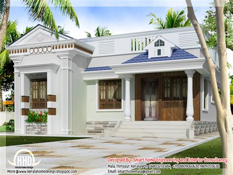 single house designs kerala style single storey house design one bungalow