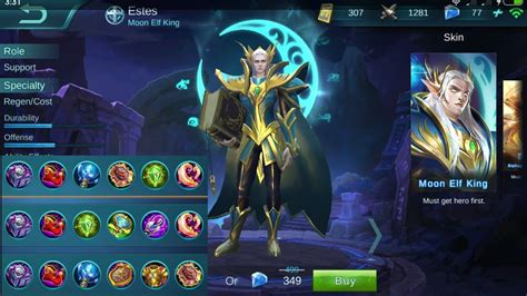 Mobile Legends Estes Tutorial, Build Items, Tips And