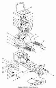 Mtd 13az614h452  2003  Parts Diagram For Frame Components