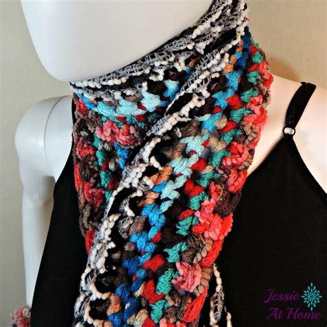 beautiful bohemian crochet scarf favecraftscom