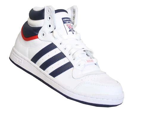 New Mens Adidas Top Ten Hi Top Trainers Uk Ebay
