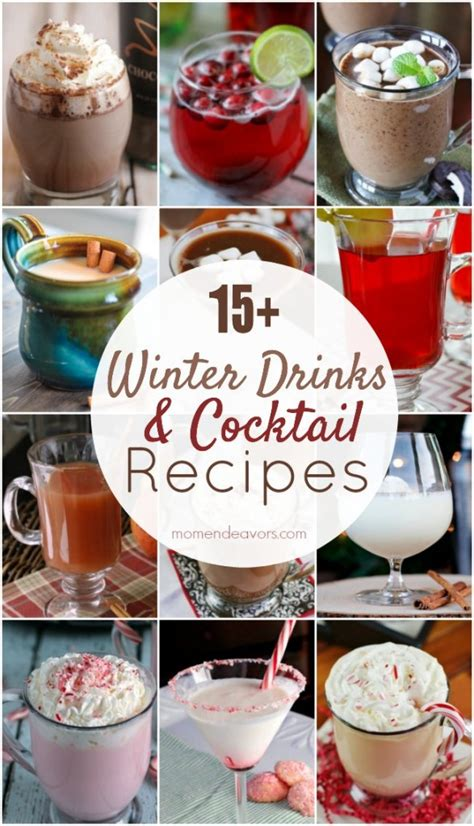 delicious winter drinks cocktails