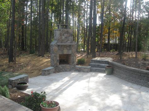 cost of building an outdoor fireplace how much should an outdoor fireplace cost archadeck of charlotte
