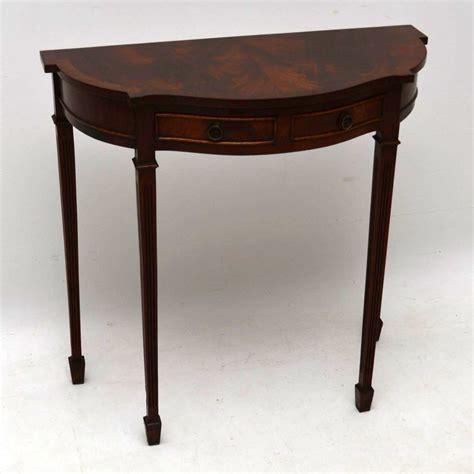 antique mahogany console table mahogany console side table c 1950 la81418 4112