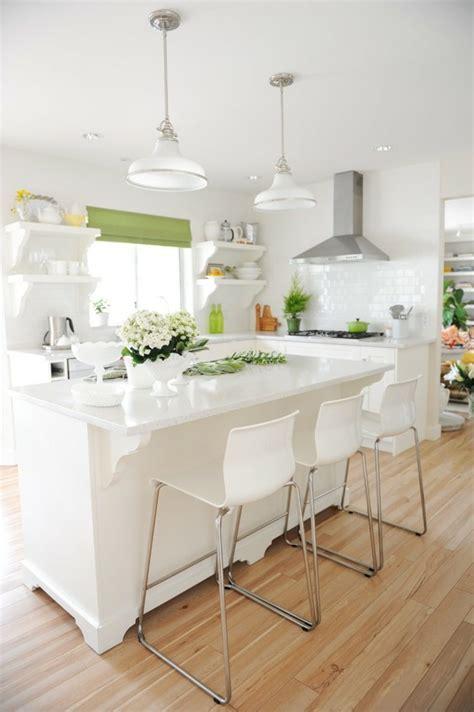 cuisine blanche pas cher îlot central cuisine ikea en 54 idées différentes et