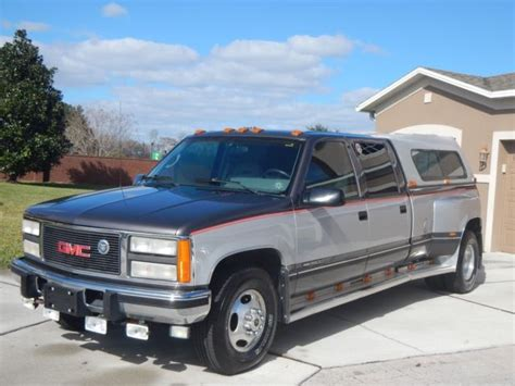 old car manuals online 1993 gmc vandura 3500 seat position control 1993 gmc 3500 crew cab 6 5 turbo diesel dually one owner only 9k original miles for sale