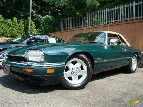 Green Jaguar Car by 1995 Racing Green Jaguar Xj Xjs Convertible