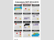 Calendario escolar 20142015 SEP Mexico