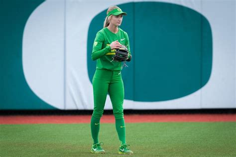 Oregon softball #26 dancing is my side hustle. Oregon softball is leaning on former reserves to take on ...