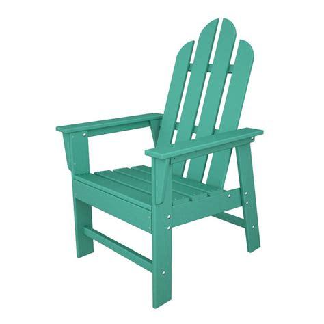 Adirondack Chairs Plastic by Shop Polywood Island Aruba Recycled Plastic Casual