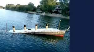 19ft long 1 46 scale titanic model sinking youtube
