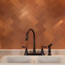 copper tiles for kitchen backsplash copper backsplash tiles kbdphoto