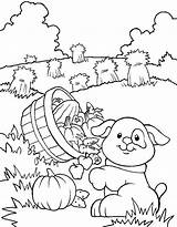 Coloring Farm Pages Printable Crops Dog Farmer Harvest Getdrawings Colouring Getcolorings Jobs Source sketch template