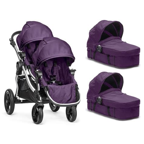 culle gemellari duo gemellare baby jogger set city select infanzia