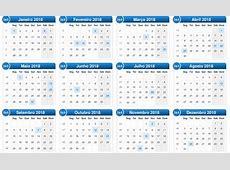 Feriados de 2018 Hora de programar suas viagens