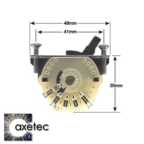 guitar parts  axetec   position lever switches