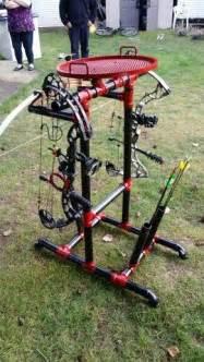DIY PVC Bow Stand Archery