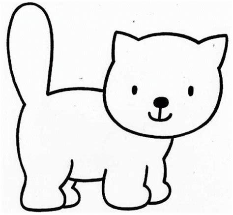 la chachipedia dibujos de gatos  colorear
