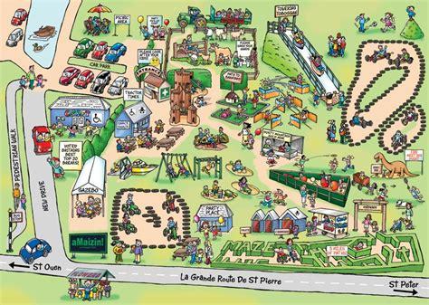 maps map cartoon