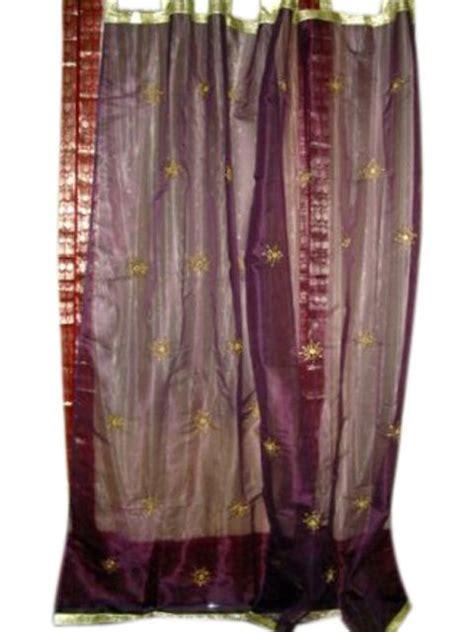 pin by mogul interior on india silk sari curtain