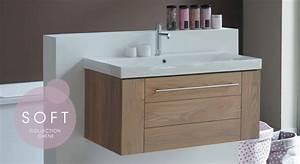 mobilier de salle bain en bois massif line art meuble With salle de bain mobilier