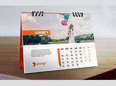 Desktop Calendar Design 20 Best Calendar Template Designs