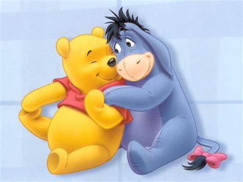 Winnie The Pooh And The Donkey