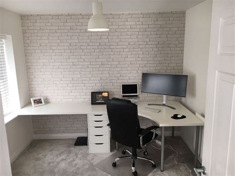 ikea office desk uk ikea linnmon customisation install maple tree carpentry