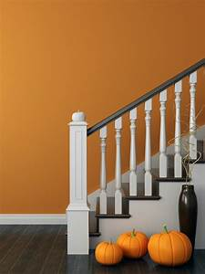 Painting, Walls, By, A, Staircase