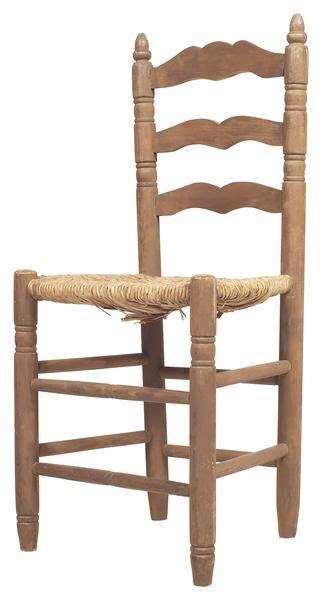 recane antique ladder  chairs antique ladder