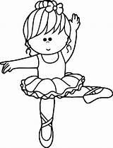 Ballerina Wecoloringpage Pequena Dancing Ballerinas Disegni Ausmalbilder Leccion Spectacular Drawings Leap Colorironline Familyfriendlywork sketch template